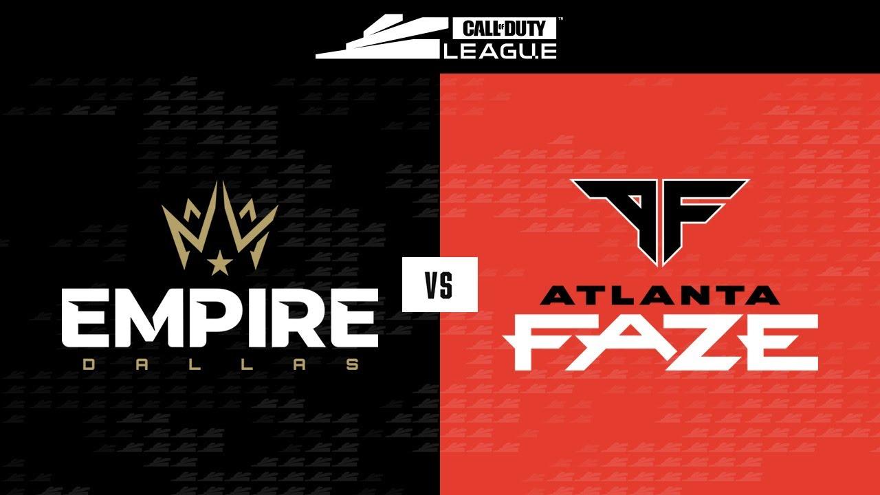 Winners Round 1 | Dallas Empire vs Atlanta FaZe | Stage III Major Tournament | Day 1