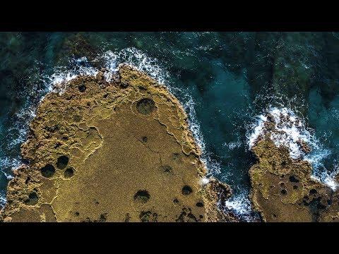 Israel Caesarea National Park AERIAL DRONE VIDEO in 4K. Amazing drone shots. Phantom 4 Pro