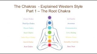 The Chakras  Explained Western Style: Part 1 The Root Chakra