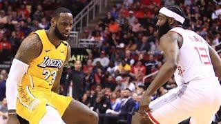 Los Angeles Lakers vs Houston Rockets 1st Half Highlights   January 18, 2019-20 NBA Season