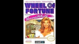 NES Wheel of Fortune Featuring Vanna White Run Game #2