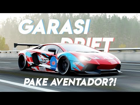 GARASI DRIFT PAKE AVENTADOR?!