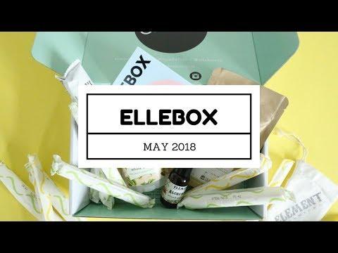 ElleBox Subscription Box Unboxing May 2018