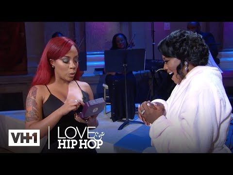Love & Hip Hop Live: The Wedding | K. Michelle Gives Yandi Something Blue | VH1