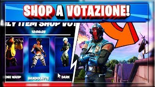 NEW SHOP TO VOTE! SKIN RARE AND DISCOUNTS! THE SNOW IS MELTING! (FORTNITE SEASON 10)