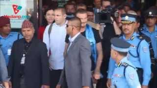 David Beckham in Nepal | Daily Exclusive News ( Media Np TV)