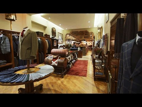 The Art of a Bespoke Suit, Presented by Huntsman