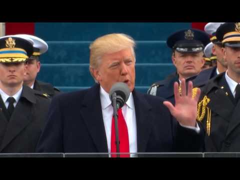 8 key quotes from US President Donald Trump's inauguration speech
