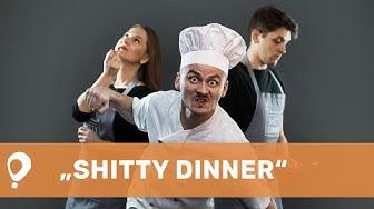 "Gurmaniškas spektaklis ""Shitty Dinner"""