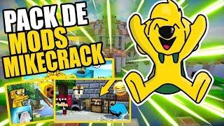 LOS MODS QUE USA MIKECRACK| Mod pack#3 (1.7.10)
