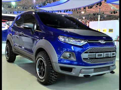 All New 2014 Ford EcoSport Storm Concept