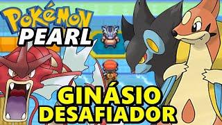 Pokémon Pearl (Detonado - Parte 9) - Ginásio Aquático de Pastoria