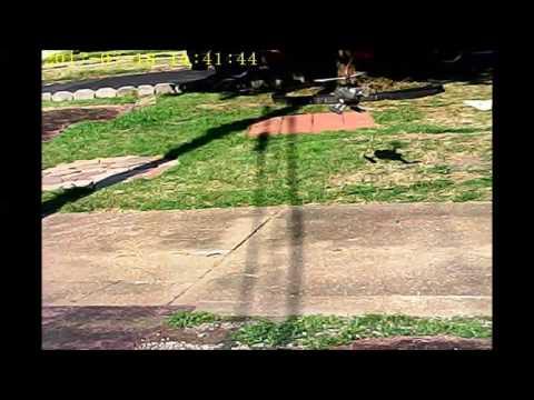EC145 HELI PORT LANDING  TREX 450  07 21 17  STILL VERY HOT OUTSIDE    YOUTUBE