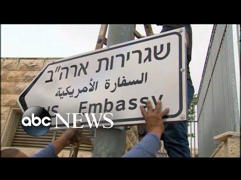 U.S opening new American embassy in Jerusalem