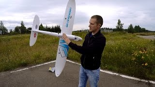 Радиоуправляемый Самолет Dynam Hawk Sky .... Сборка И Полет.