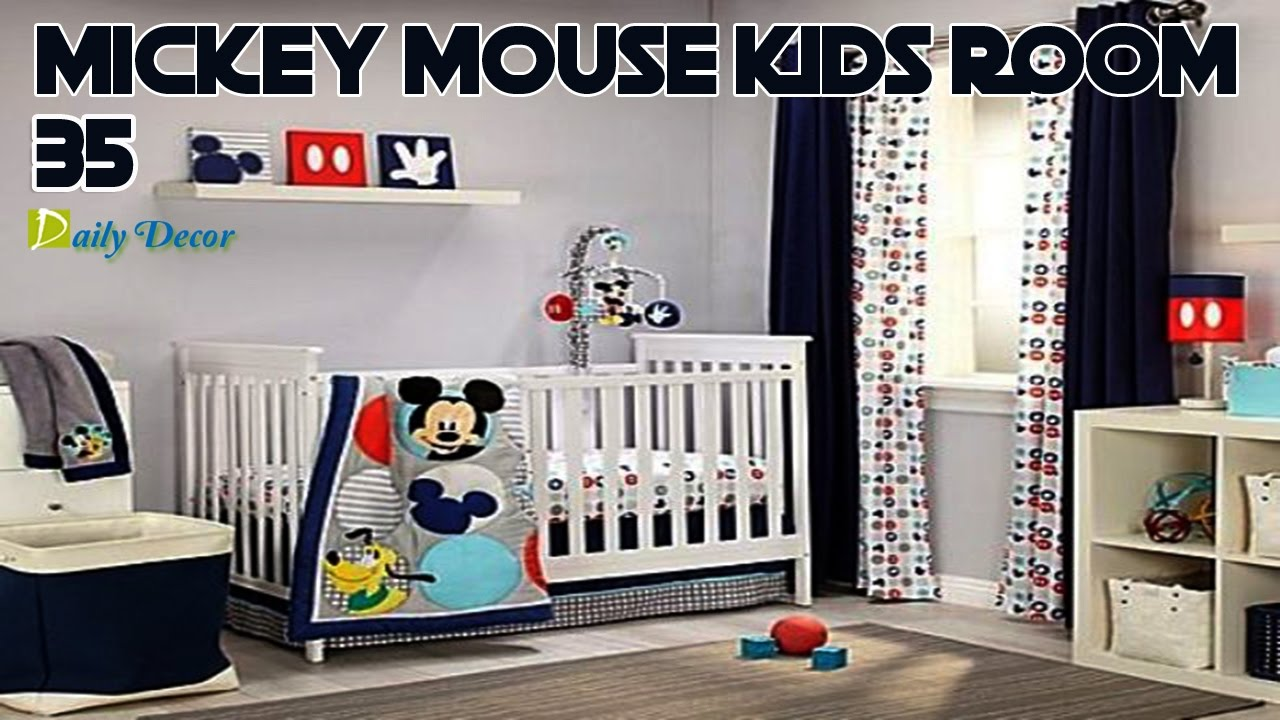 daily decor 25 mickey mouse kids room decor ideas you ll love youtube rh youtube com mickey mouse toddler room ideas mickey mouse themed toddler room