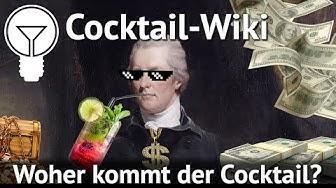 SmartMix Cocktail Wiki - Die Herkunft des Cocktails (Teil 1)