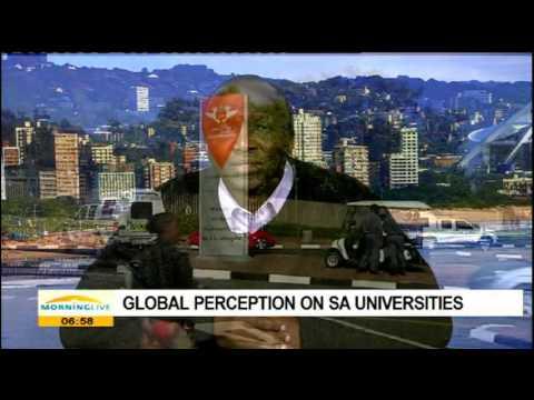 Global perception on SA universities