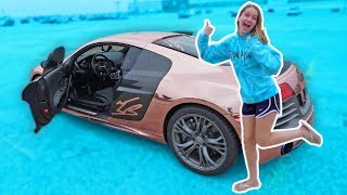 I LET MY 14 YEAR OLD SISTER DRIVE MY SUPERCAR!! *SCARY*