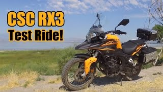 Csc Rx3 Test Ride!  Not A Review