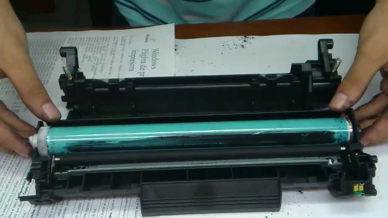 Recarga Toner Hp 85a Modelos Nuevos 2012 Youtube