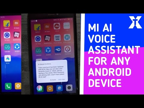 How to get xiaomi voice assistant mi AI in your any andriod device   hindi