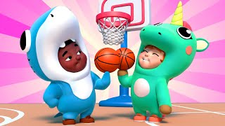 Children Music Karaoke 🎤 NO NO BASKETBALL - Learning BasketBall - Sports songs for kids - One Zeez