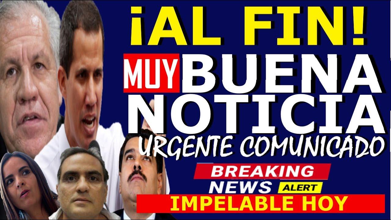 🔴HACE 5 MINUTOS, LUIS ALMAGRO CONDENA A MADURO Y ALEX SAAB - GUAIDO ANUNCIA HOY - URGENTE COMUNICADO