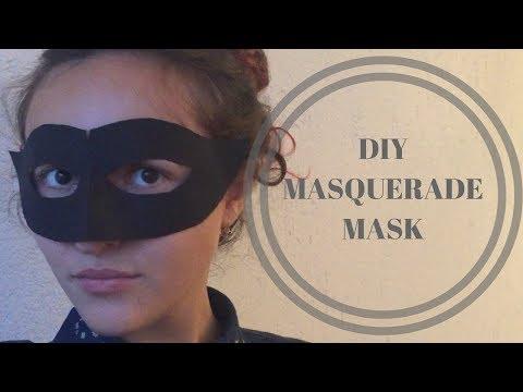 DIY | How To Make A Masquerade Mask