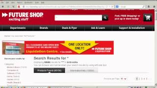 How to find the cheapest lowest price items on bestbuy.ca or futureshop.ca for free shipping(, 2013-06-27T06:10:34.000Z)