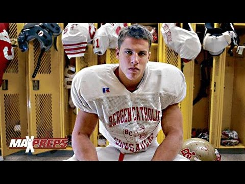 Brian Cushing High School Highlights - Linebacker