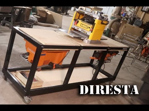 DiResta Triple Flip  Shop Table