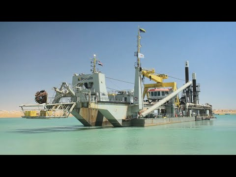 Boskalis: capabilities clip cutter suction dredger