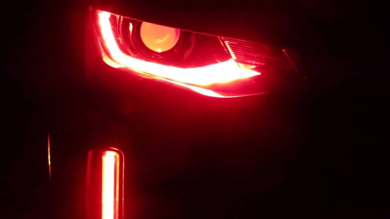 2017 Camaro Oracle Colorshift Demon Eyes Drls And Fog Lights