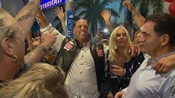 Heimaturlaub vom Knast: Hells Angels Boss Frank Hanebuth wird wie Popstar ein gefeiert