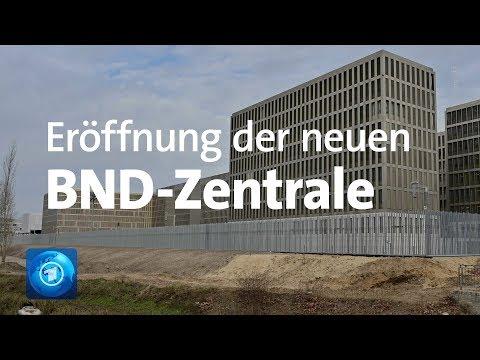 Neue BND-Zentrale In Berlin: Merkel Eröffnet Geheimdienst-Gebäude