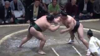 20140915 大相撲秋場所2日目 日馬富士vs千代大龍.