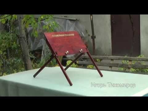 DIY Laptop Table. Кроватный столик для ноутбука, планшета.