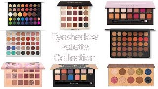 My 90 Eyeshadow Palette Collection| James Charles Palette, Jaclyn Hill Palette + MORE