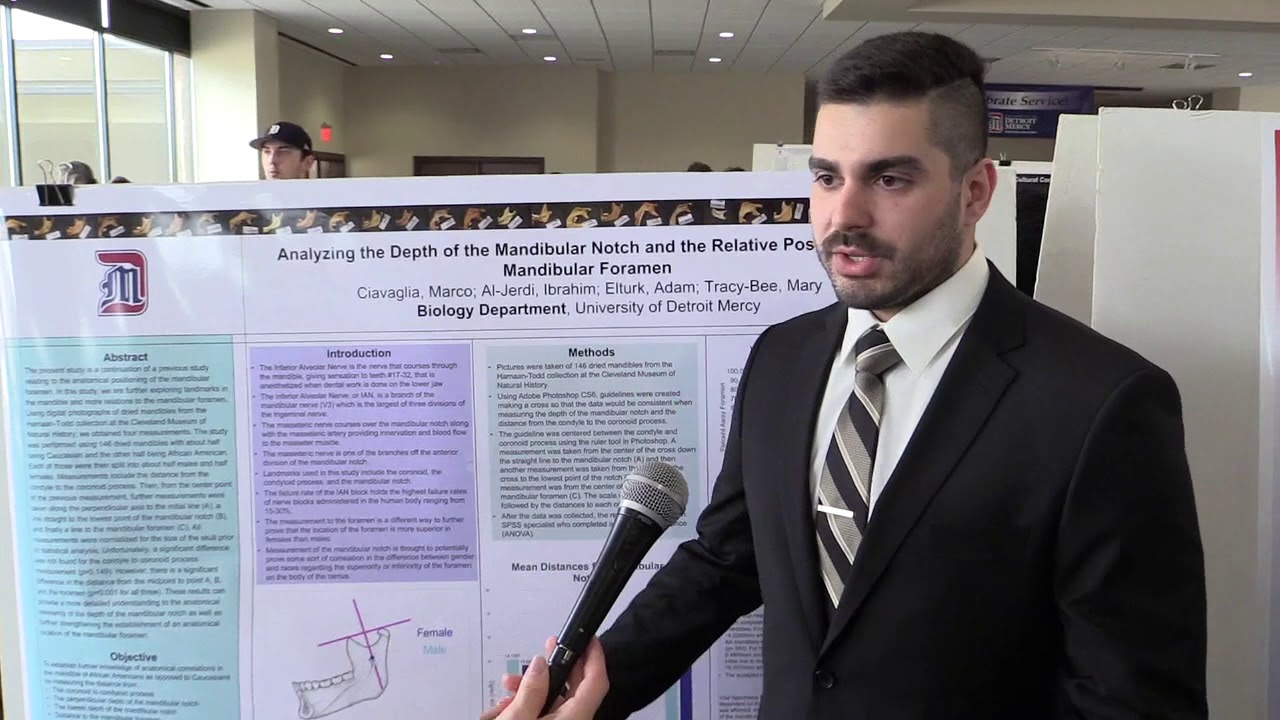 Student Marco Ciavaglia discusses doing research.