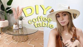 CUTEST DIY COFFEE TABLE! + pla…