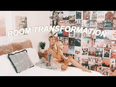 MY 0 TO A 10 ROOM TRANSFORMATION! + deep clean with me!