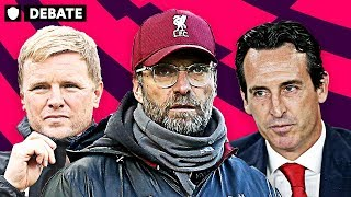 WHO IS THE BEST MANAGER IN THE PREMIER LEAGUE THIS SEASON?   DEBATE
