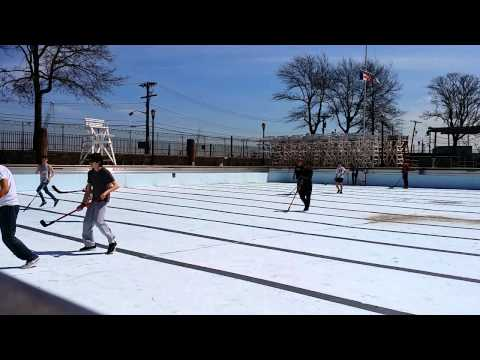 Lyon Center Pool Hockey