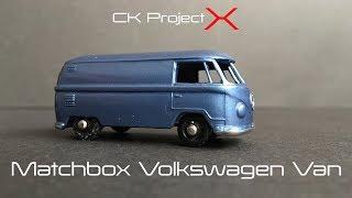 Matchbox restoration volkswagen van custom