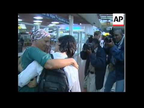 foreign aid workers kidnapped in Somalia arrive in Nairobi