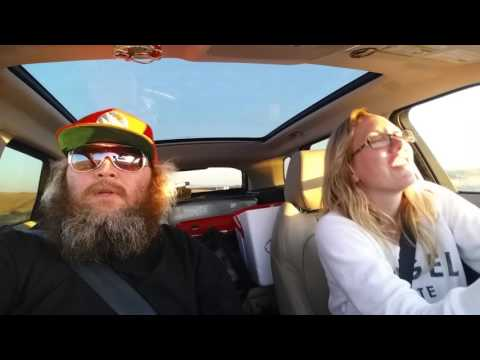 """Brett Rossi and I """"I will Survive"""" karaoke in the car"""