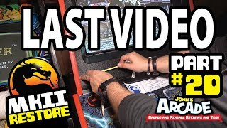 LAST VIDEO! Mortal Kombat II Part #20 Restore Bally Midway - Ed Boon Menu, Gameplay and more!