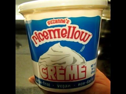 Ricemellow Creme Review! (Vegan marshmallow creme, nondairy, gluten-free)