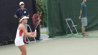 TORAYパンパシフィックオープンテニス 日比野奈緒 ダニエラハンチュコバ 検索動画 30